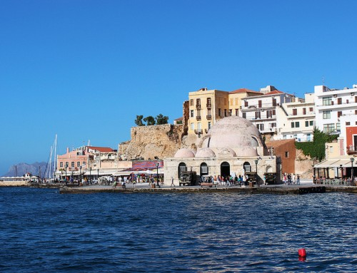 Chania, a beautiful port town in Crete
