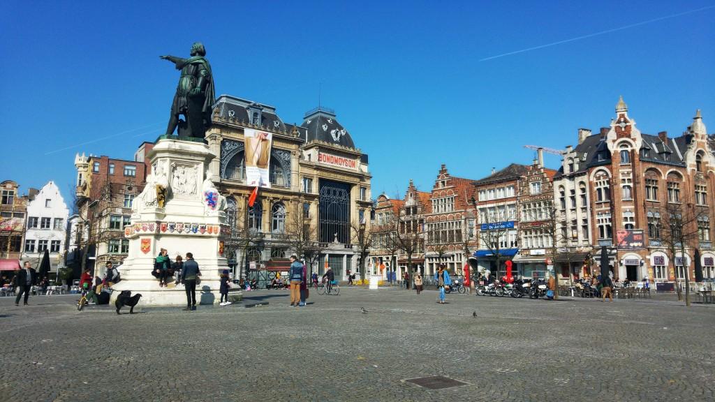 Few Hours In Ghent Belgium