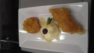 Aegean Business Class Dessert