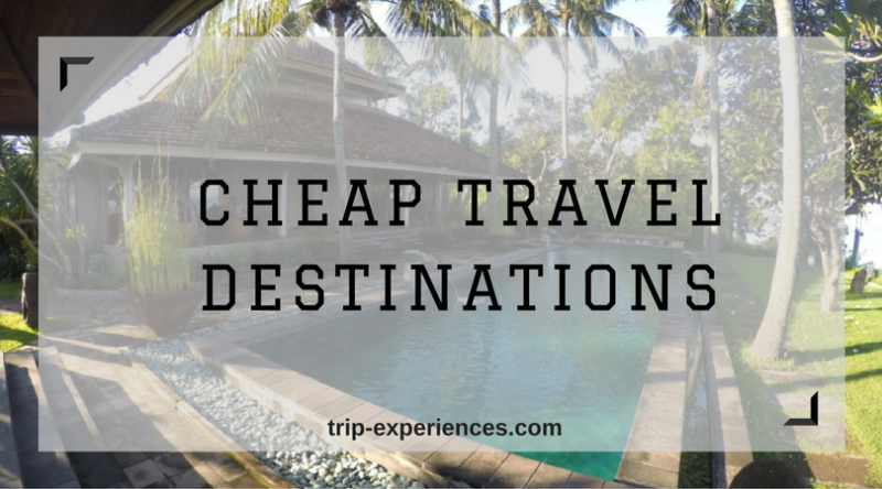 Cheap Travel Destinations